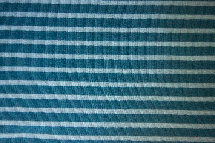 Stöfflerin Hilco Campan Jersey Streifen Farben Blau Hellblau